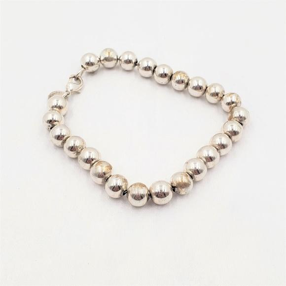 d611e62a4 Tiffany & Co Sterling Silver Ball Bead Bracelet. M_5ba3f372534ef9e680a45aeb